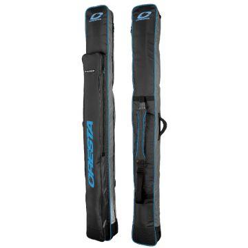 Cresta Blackthorne Pole Holdall zwart - blauw visfoudraal 1m90 6-tube