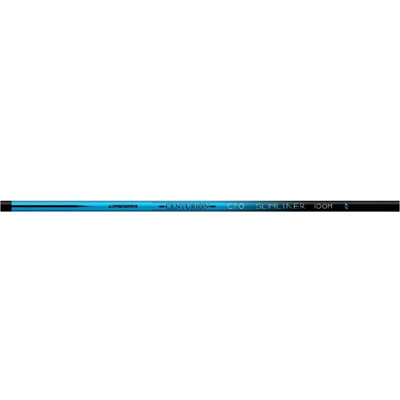 Cresta Centurion Slimliner C710 Pack blauw - zwart witvis vaste hengel 10m00