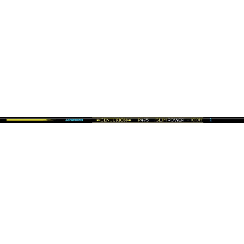 Cresta Centurion Slimpower P695 Pack blauw - zwart witvis vaste hengel 10m00