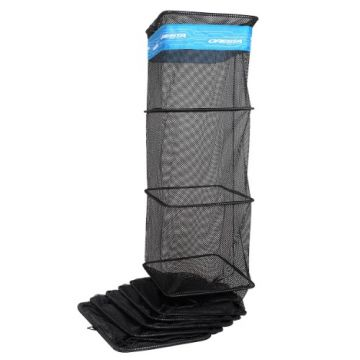 Cresta Easy Dry Keepnet 360° Block zwart - blauw witvis leefnet 4m00