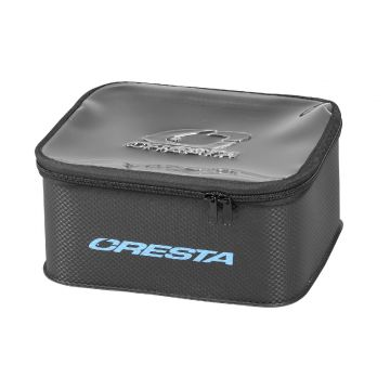 Cresta EVA Accessory Bag ZWART - BLAUW witvistas foreltas Large