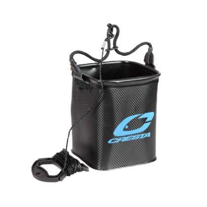 Cresta Eva Waterbucket zwart - blauw visemmer 5l