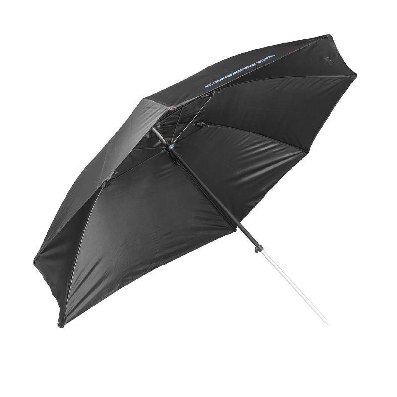 Cresta Feeder Umbrella noir - bleu  2m50