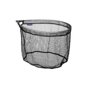 Cresta Nano Mesh Oval zwart visschepnet 50x30x30cm