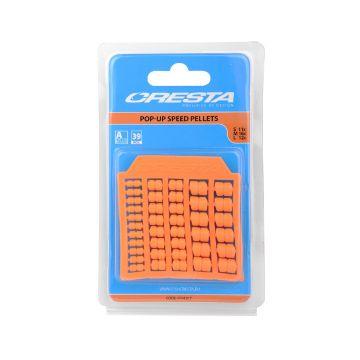 Cresta Pop-up Speedpellets oranje klein vismateriaal