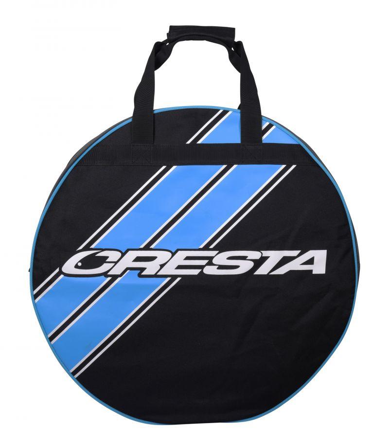 Cresta Protocol Keepnetbag Round zwart - blauw - grijs foreltas witvistas 7x58cm