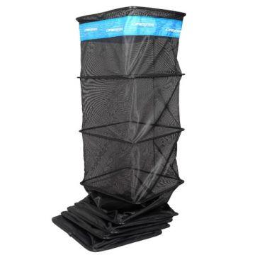 Cresta Soft Carp Keepnet 360° Block zwart - blauw witvis leefnet 4m00