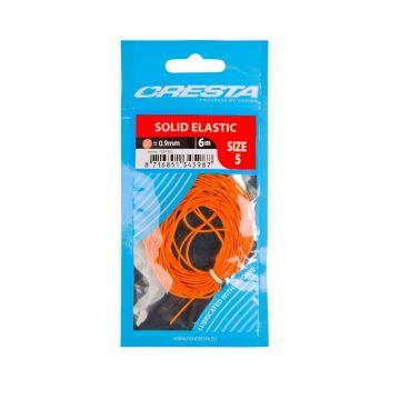 Cresta Solid Elastic PEACH witvis viselastiek 0.9mm 6m