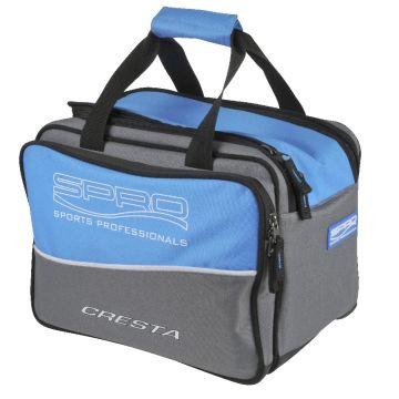 Cresta Solith Cool Bait Bag blauw - wit - grijs foreltas witvistas Large