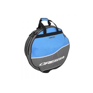 Cresta Solith Double Keepnet Bag grijs - blauw foreltas witvistas