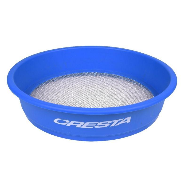 Cresta Supa Riddle Square Mesh blauw - zilver visemmer 3.00mm