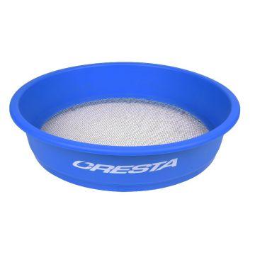 Cresta Supa Riddle Square Mesh bleu - argent  4.00mm