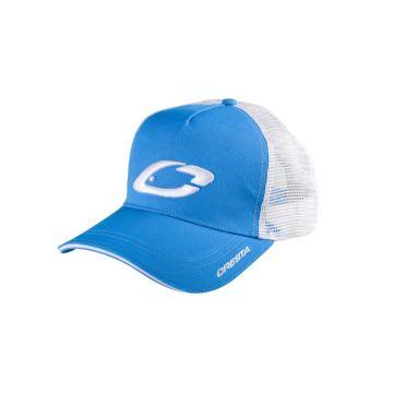 Cresta Trucker Cap wit - blauw pet Uni