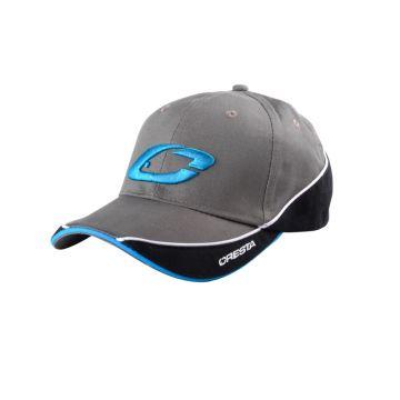 Cresta Two Tone Cap zwart - grijs - blauw pet Uni