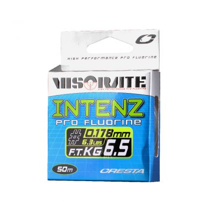 Cresta Visorate Intenz Pro Fluorine clear visdraad 0.102mm 50m