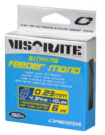 Cresta Visorate Sinking Feeder Mono vert  0.23mm 150m