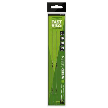 Cteccarp C-Tec Fast Rigs weedy green karper karper onderlijn H6