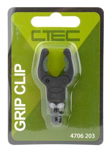 Cteccarp Grip Clip zwart - groen karper hengelsteun