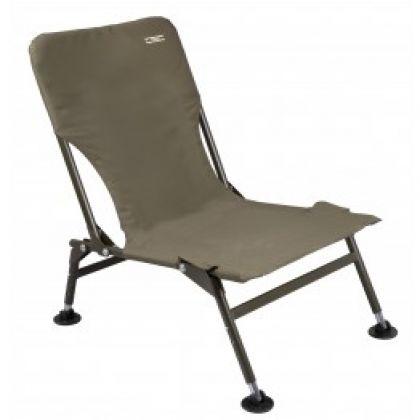Cteccarp Relax Compact Chair zwart - groen visstoel karperstoel 57x43x95cm