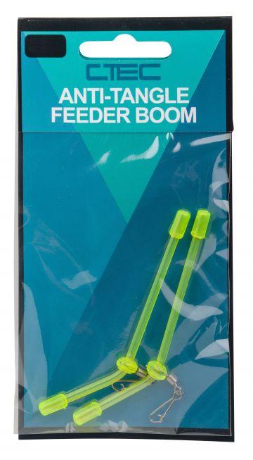 Cteccoarse Anti-Tangle Feeder Boom groen klein vismateriaal 8.5cm