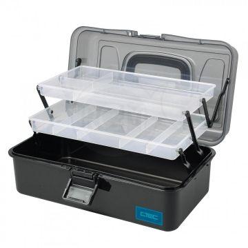 Cteccoarse C-Tec Box 2 Tray zwart - clear viskoffer