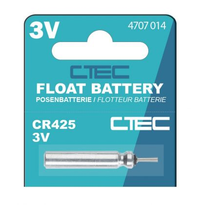 Cteccoarse CR425 Battery zilver batterij