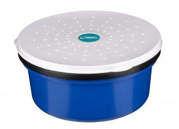 Cteccoarse Maggot Maze Box zwart - blauw - wit madendoos 0.40l