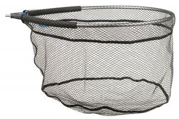 Cteccoarse Rubber Floating zwart visschepnet 55x45x30cm