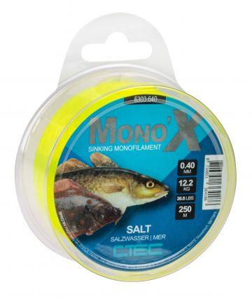 Cteccoarse Salt geel zeevis visdraad 0.50mm 250m 15kg