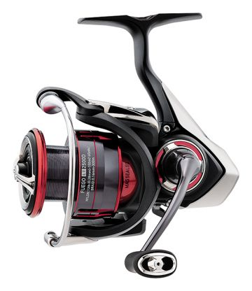 Daiwa Fuego LT rood - zwart vismolen 2000