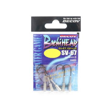Decoy Bachi Head SV67 nickel loodkop H5/0 15g