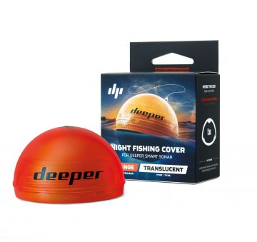 Deeper Night Fishing Cover oranje - rood dieptemeter