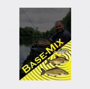 Dlr Baits Witvis Base Mix Black zwart witvis visvoer 2kg