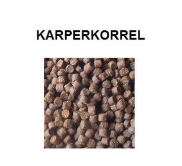 Dlr Baits Witvis Karperkorrel zwart - bruin vispellets 4.5mm 900g