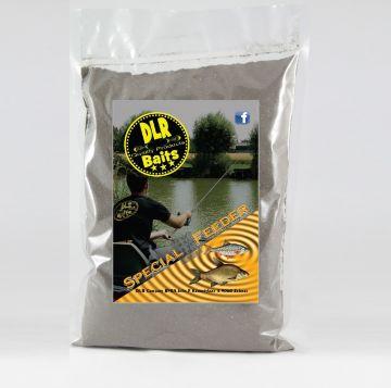 Dlr Baits Witvis Super Feeder zwart witvis visvoer 1kg
