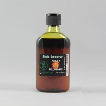 Dlrbaits Red Flame Bait Booster zwart - bruin aas liquid 250ml