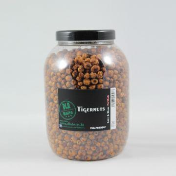 Dlrbaits Tigernuts zwart - bruin partikel 3l