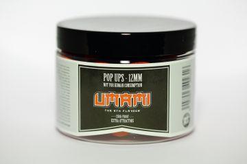 Dreambaits Fluo Umami rood karper pop-up boilies 12mm
