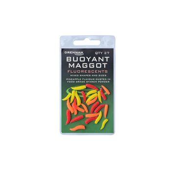Drennan Buoyant Maggots fluo imitatie visaas