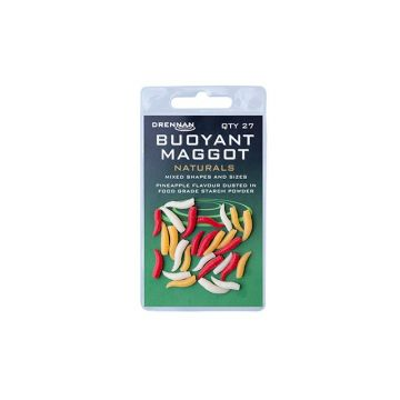 Drennan Buoyant Maggots natural imitatie visaas
