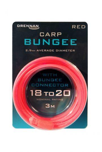Drennan Carp Bungee rood witvis viselastiek 2.90mm