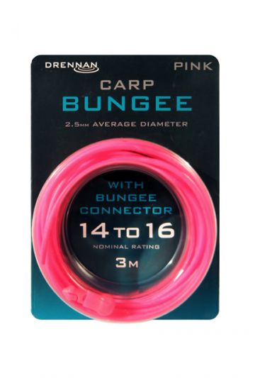 Drennan Carp Bungee roze witvis viselastiek 2.50mm