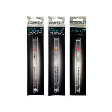 Drennan Crystal Dibber Bandid Rig clear kant & klare vislijn 0.40g 0.23-0.20mm H14
