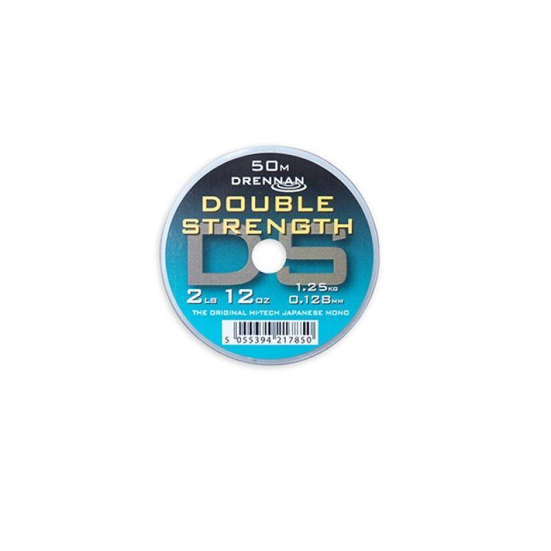 Drennan Double Strength clair  0.128mm 50m 2lb 12oz