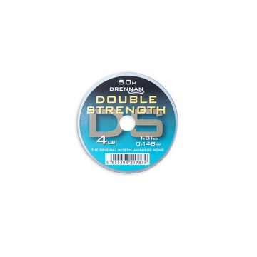Drennan Double Strength clear visdraad 0.148mm 50m 4lb