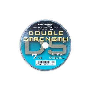 Drennan Double Strength clear visdraad 0.205mm 50m 7lb