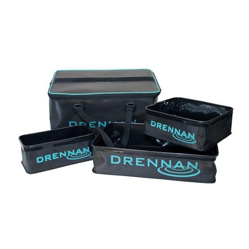 Drennan DR 4-Part Bait System 30L blauw - groen - zwart foreltas witvistas