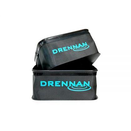 Drennan DR Bait Bowls Square blauw - groen - zwart foreltas witvistas 7l+9l