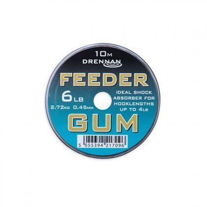 Drennan Feeder Gum bruin visdraad 0.45mm 10m 6lb