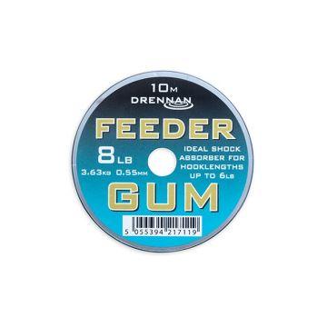 Drennan Feeder Gum bruin visdraad 0.55mm 10m 8lb